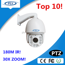 China Manufacturer 800tvl high speed ptz smart video analysis and recognition auto camera 360