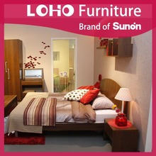 Bedroom Set,Bed,Night Stand,Mirror,Dresser,Solid Wood