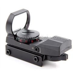 Tactical 1x22x33 Reflex Red Green Dot Sight Scope airsoft riflescope multi reticle holographic sight