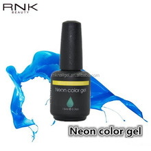 high quality best price soak off uv nail neon color gel