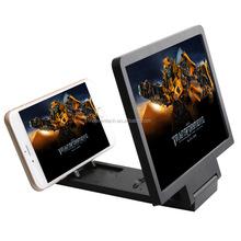 2015 HOT selling Plastic material portable phone screen 3D magnifier, mobile phone screen magnifier, HD TV screen magnifier