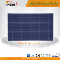 240W poly Solar panel with IEC,TUV,CE,CEC,ISO from Zhejiang Ningbo Manufacturer factory