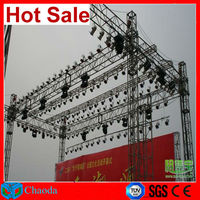 Hot sale Guangzhou China Cheap CE,SGS ,TUV cetificited Cheap aluminium stage fashion show decorative truss