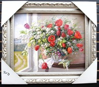 Hand Painted Oil Painting Still Life Flowers oil painting