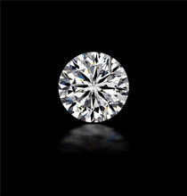 Factory direct sales 8 Heart 8 Arrow Star Auto-machine Round brilliant cut white Loose Diamond synthetic cubic zirconia C.Z