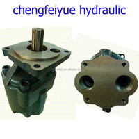 truck high pressure hydraulic rotary gear pump, large-displacement gear pump for dump truck