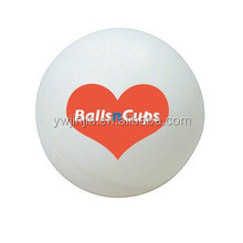 hot sell custom OEM logo printed 40mm seamless celluloid beer pong balls for beer pong game
