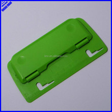 Office cheap colorful portable plastic hole punch flat
