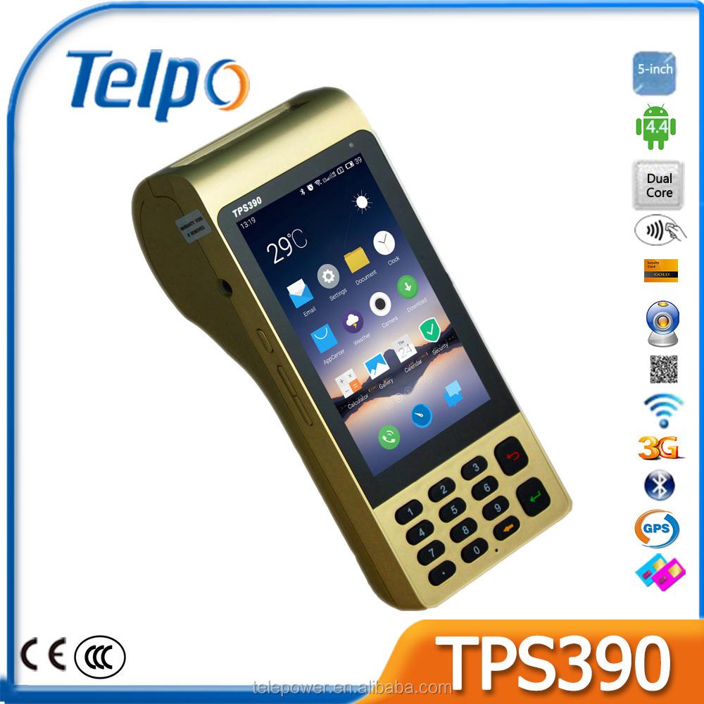 Telpo TPS390 الروبوت pos مع ماسح الباركود
