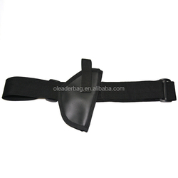 Simple Tactical Pistol Holster Waist Gun Pouch Leather Gun Case