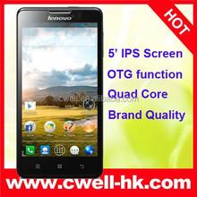 OTG Function 4000mAh Monster Battery Long Standby Dual SIM HD Screen Lenovo P780 Lenovo 3G Smart Phone Android 4.2