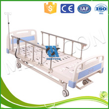 easy for nurse and patient control two motor electric bed in hospital