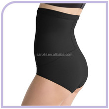 Women's Shapewear Brief High Waist Firm Control Shaping Thong Panties Hip Exercise Shaper