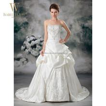 Fantastic bride dress ball gown real photo wedding dress
