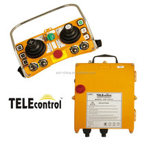 with high and low power supply adjust function joystick remote control receiver, wireless control, more safety