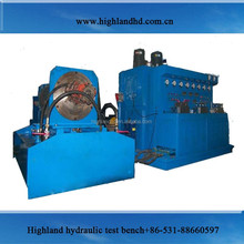 Combined electric motor hydraulic drive patent common rail diesel injector test bench