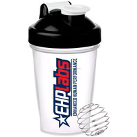 Plastic Protein Shaker Bottle with SS mixer spring ball