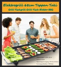multifunction table -top bbq electric contact grill & griddle