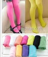 S M L many colors ballet pantyhose children velvet pantyhose candy color leggings stockings kid's girl's gift SK13001