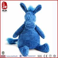 baby colorful wild animal plush toys plush donkey