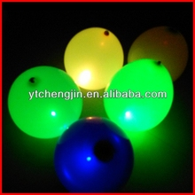 glowing in the night blinking led balloon