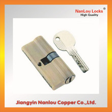 High brass Euro Cylinder Lock with key
