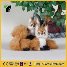 Handmade couple gifts toy animal couple squirrel