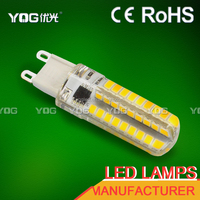 most selling products ce rohs extreme bright g9 5w halogen capsule recessed led lighting led high lumen g9 daylight bulbs e14
