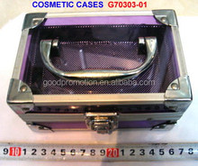 custom aluminum frame cosmetic case for teenage and adult personal label brand