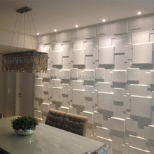 3d embossed wall panel Plant Fiber Wholesale Interior wallpaper