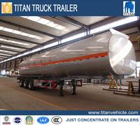 New Fuel Truck Semi Trailer, Storage Refuel Tank Truck