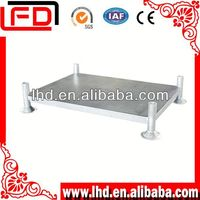 Logistic powder coating steel rack of clothing