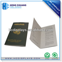 Customzied Design Passport Security Printing