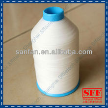 polyester sewing thread with PTFE treatment