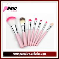New product 7pcs iron box cosmetic brush portable makeup brush set makeup beauty tools