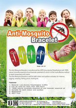 Hot Sell Bracelet Anti Mosquito Eco-friendly mosquito killer ! High effect bracelet anti mosquito / 100% Natural ingredients