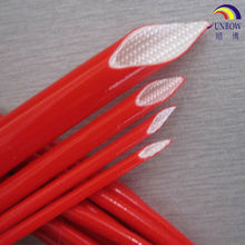 UL/CSA Certificated Coated Braided Silicone Fiberglass tube for cable and wires insulation
