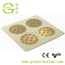 CE ROHS FCC High power 150w 180w 300w epistar chip apollo rgb led grow light panel
