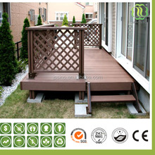 WPC wood plastic garden post/fencing/pergola/handrail/railing/gazebo post