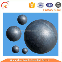 12.7mm--60mm high chrome grinding balls for cement and mining industry
