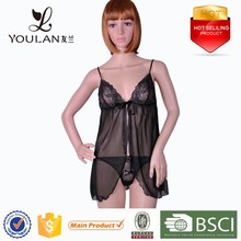 Transparent Beauty Very Sexy Transparent Adult Mature Women Sexy Lingerie