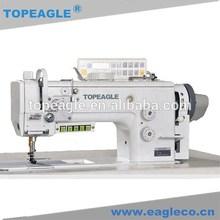 TCF-899 double needle compound feed lockstitch sewing machine