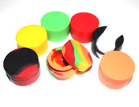 Hot Selling 100% Food Grade Silicone Weed Jar Wax/Oil Containers