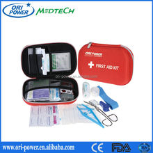 Hot sale CE ISO FDA approved OEM wholsale promotional mutipurpose EVA outdoor first aid bag