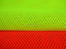 100% polyester fluorescent mesh fabric for garment