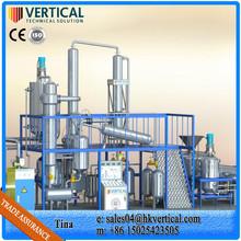 Mini Vegetable Oil Refinery Equipment Waste Oil Distillation Plant Used Engine Oil Filtration Machine