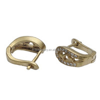 High Quality Zircon Diamond Inlay Latest Brass Japanese Fashion Earrings
