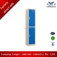 Top quality single 2 door steel storage cabinet boxes