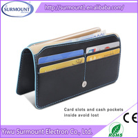 2015 wholesale import mobile phone accessory flip wallet pu leather case for iphone 6 cell cover factory in china