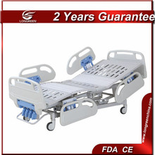 LG-M503 ABS siderail 4 cranks advanced hospital bed